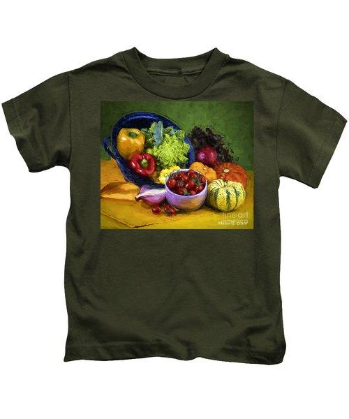 Veggie Bowl  Kids T-Shirt