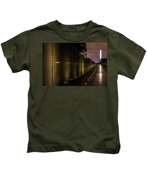 Vietnam Veterans Memorial Kids T-Shirt