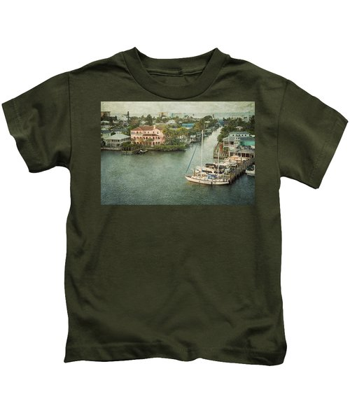 View At Fort Myers Beach - Florida Kids T-Shirt