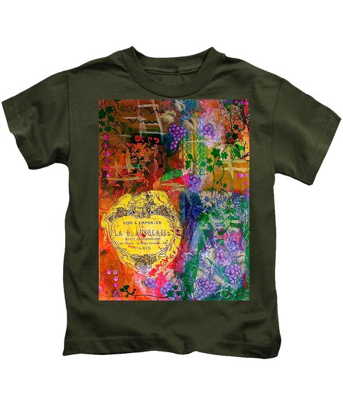 Vintner Label Kids T-Shirt