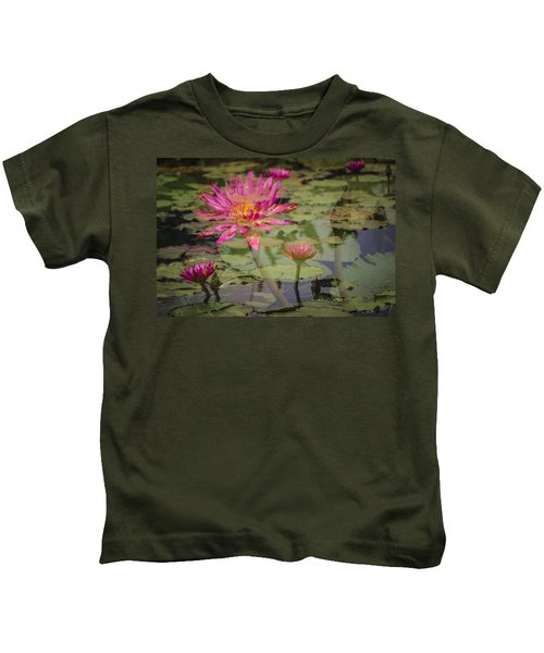 Water Garden Dream Kids T-Shirt