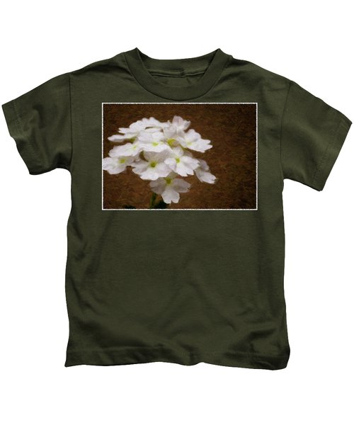 Watercolor Of Daisies Kids T-Shirt