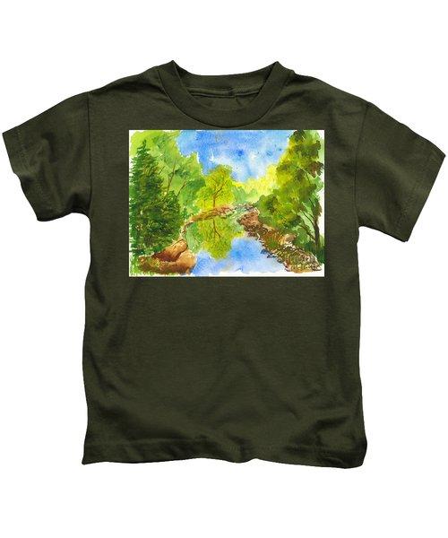 Weber River Reflection Kids T-Shirt