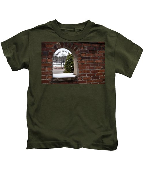 Welcome To The Cage Kids T-Shirt