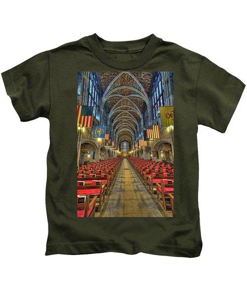 West Point Cadet Chapel Kids T-Shirt
