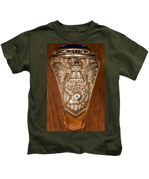 West Point Class Ring Kids T-Shirt
