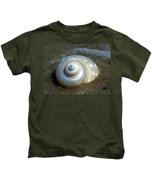 Whispering Tides Kids T-Shirt