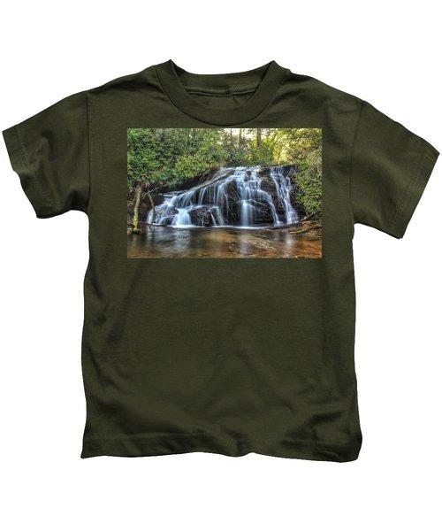 White Owl Falls Kids T-Shirt