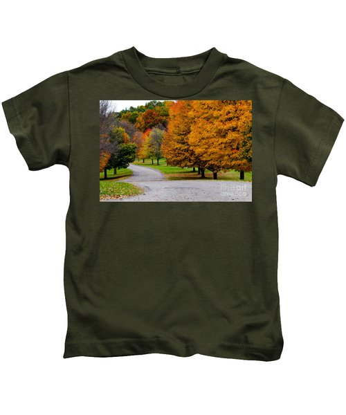 Winding Road Kids T-Shirt