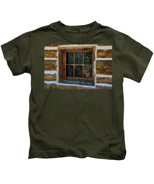 Window Reflection Kids T-Shirt