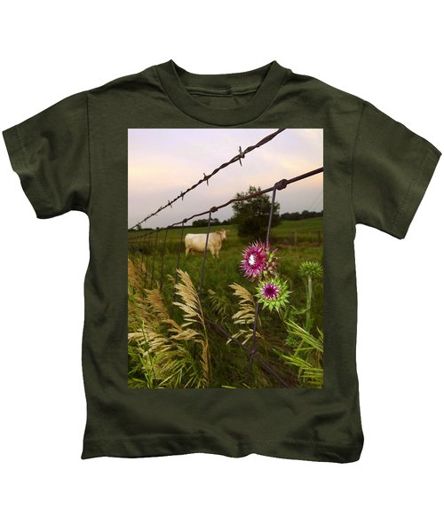 Wisconsin Evening Kids T-Shirt