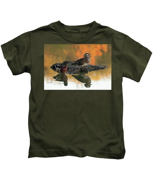 Wood Ducks Kids T-Shirt