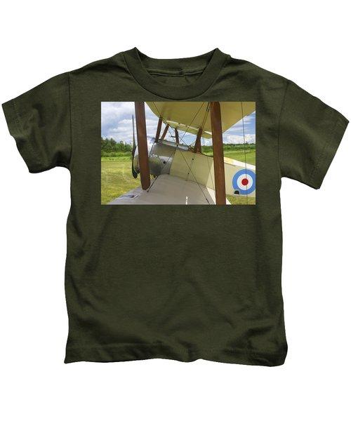 World War One Classic 1916 Sopwith Pup Biplane Kids T-Shirt