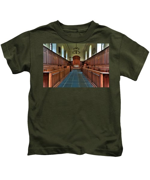 Wren Chapel Interior Kids T-Shirt