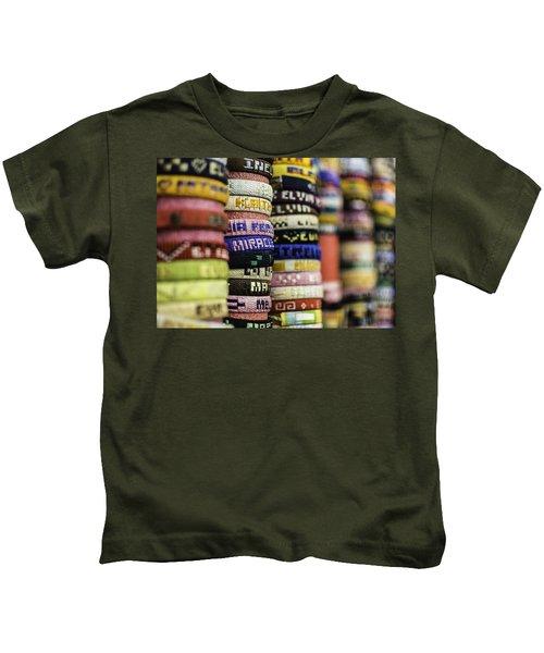 Wrist Band Rainbow Kids T-Shirt