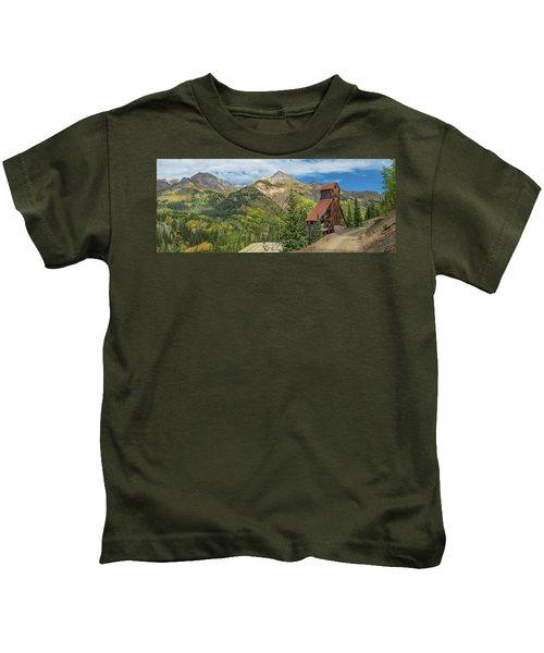 Yankee Girl Silver Mine In Red Mountain Kids T-Shirt
