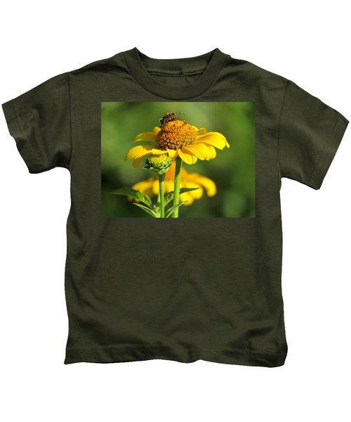 Yellow Daisy Kids T-Shirt