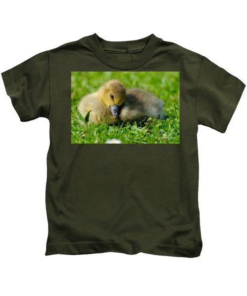 Young Greylag Goose Kids T-Shirt