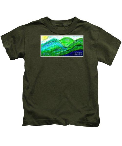 Van Gogh Sunrise Kids T-Shirt