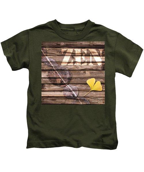 Zen Collage Kids T-Shirt