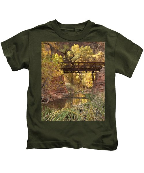Zion Bridge Kids T-Shirt