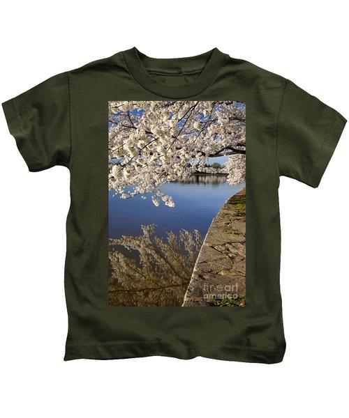 Cherry Blossoms Kids T-Shirt