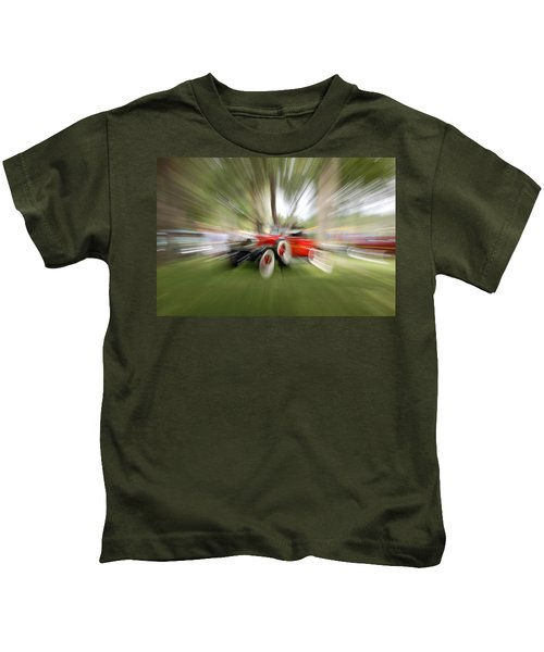 Red Antique Car Kids T-Shirt