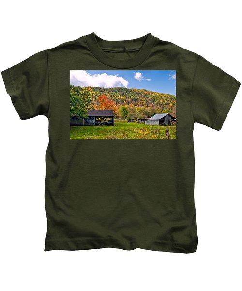 Chew Mail Pouch Kids T-Shirt