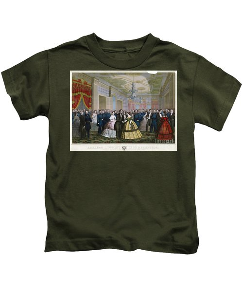 Abraham Lincoln (1809-1865) Kids T-Shirt