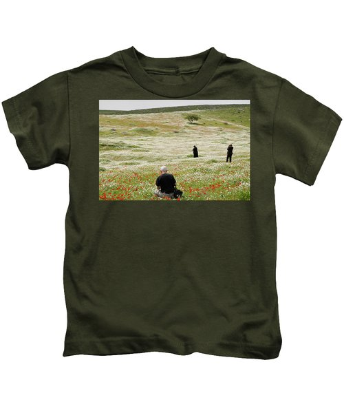 At Lachish's Magical Fields Kids T-Shirt