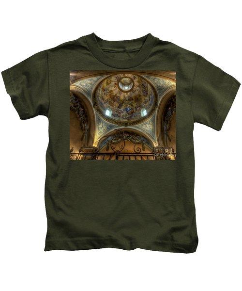 Baroque Church In Savoire France 5 Kids T-Shirt