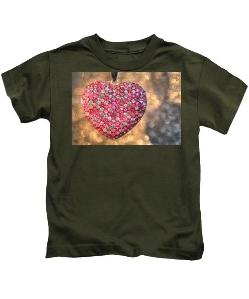 Bedazzle My Heart Kids T-Shirt