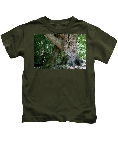 Big Fat Tree Trunk Kids T-Shirt