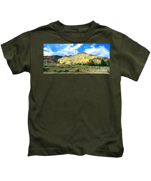 Big Rock Candy Mountain - Utah Kids T-Shirt