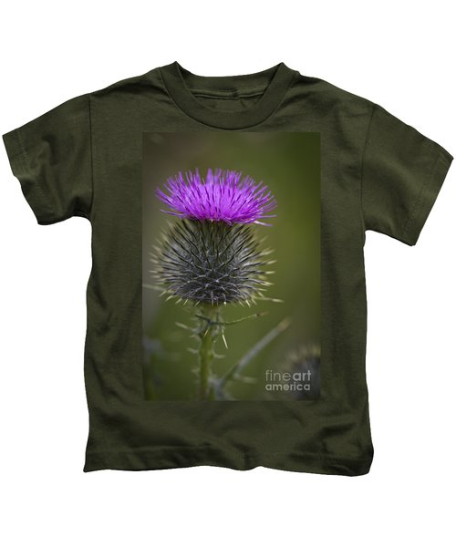 Blooming Thistle Kids T-Shirt