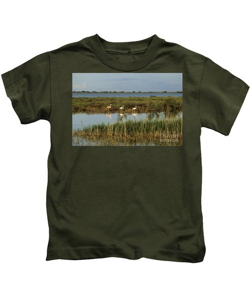 Camargue.etang Of Vacarres Kids T-Shirt