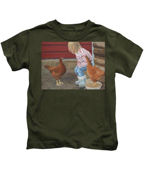Chicken Talk Kids T-Shirt