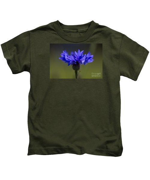 Cornflower Blue Kids T-Shirt