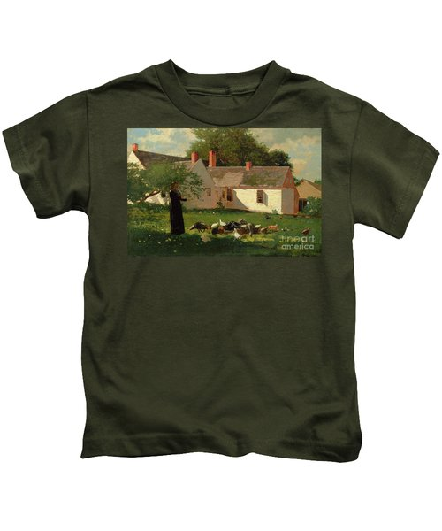 Farmyard Scene Kids T-Shirt