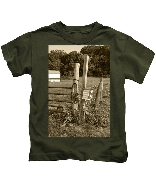 Fence Post Kids T-Shirt