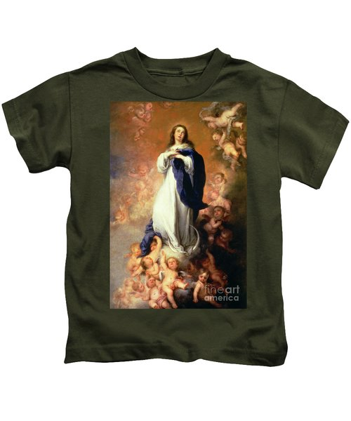 Immaculate Conception Of The Escorial Kids T-Shirt