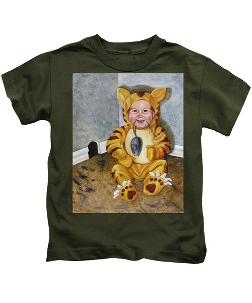 James-a-cat Kids T-Shirt