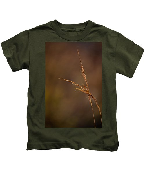 Little Bluestem On The Prairie Kids T-Shirt