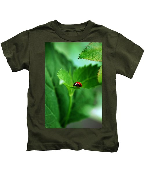 Little Red Lady Kids T-Shirt
