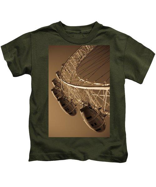 London Eye Image Kids T-Shirt