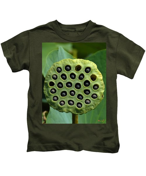 Lotus Capsule-missing Children Dl054 Kids T-Shirt