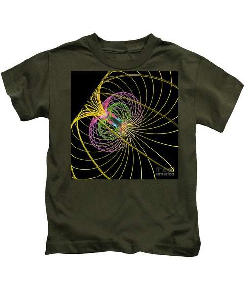 Magnetism 3 Kids T-Shirt