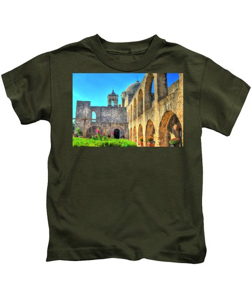 Mission Courtyard Kids T-Shirt