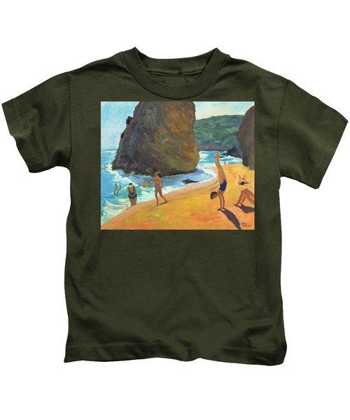 Morning Platja Dos Rosais Costa Brava Kids T-Shirt