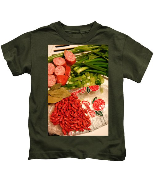 New Orleans' Red Beans And Rice Kids T-Shirt